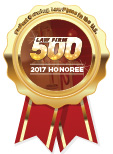 Law Firm 500 2017 Honoree